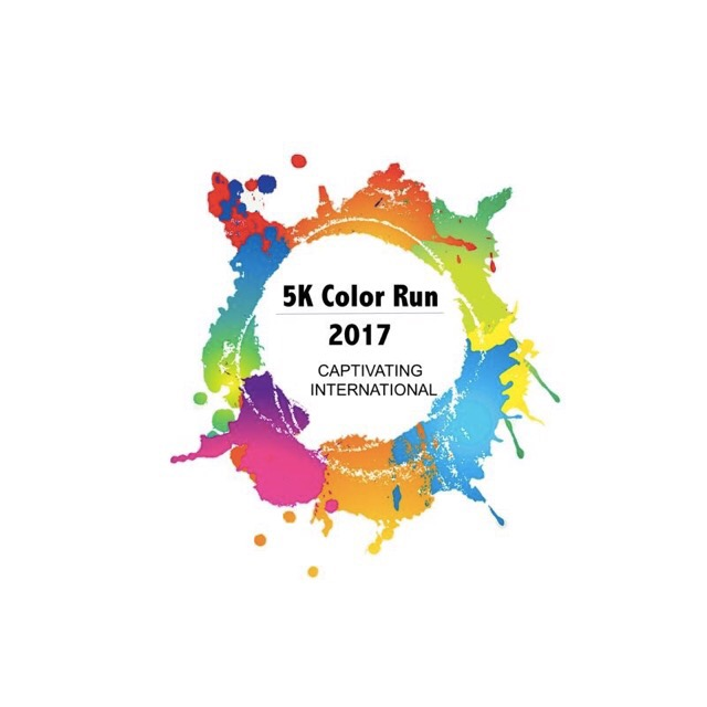 5k Color Run for Captivating International