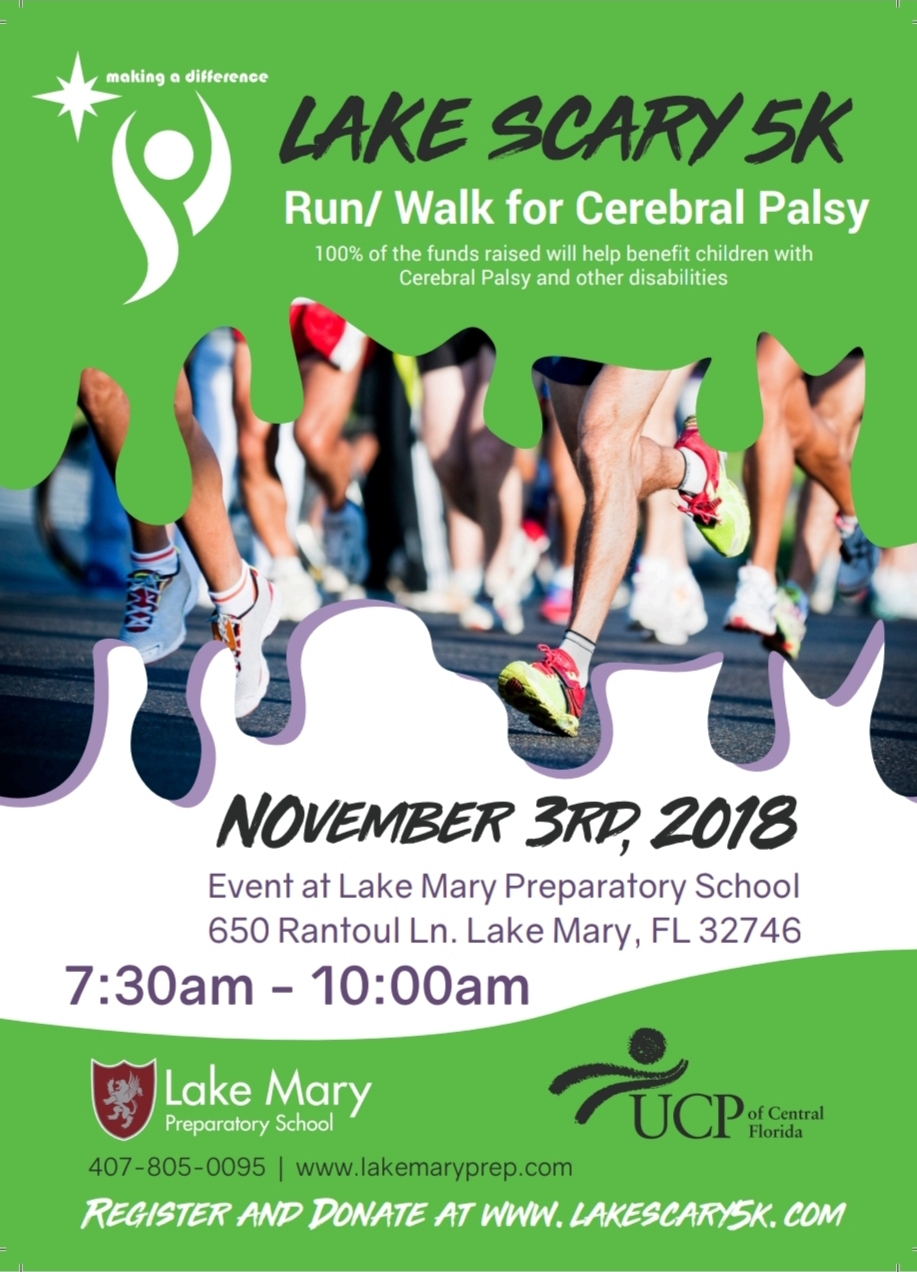 7th Annual Lake Scary 5K 2018